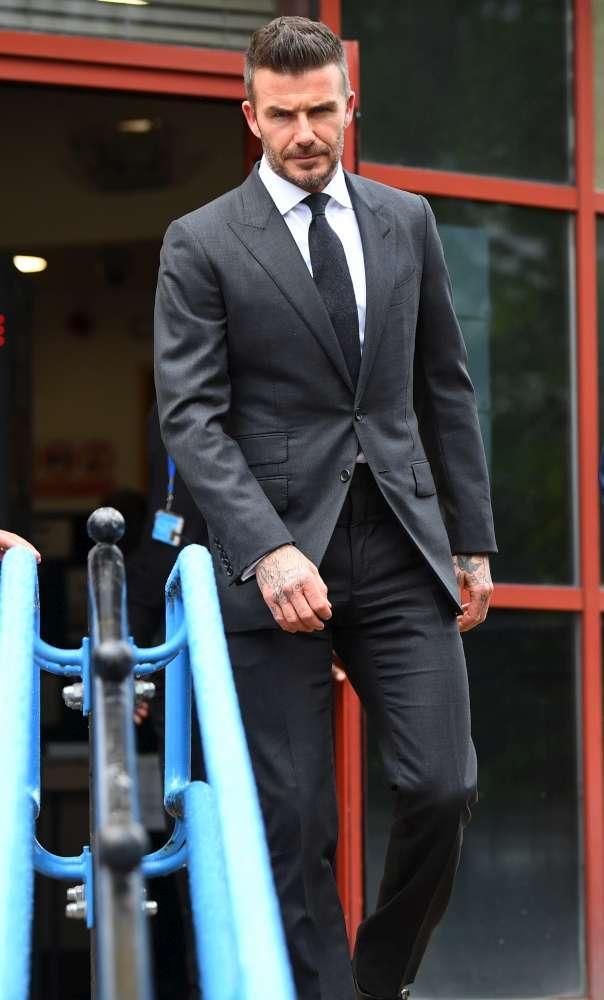 David Beckham, guai con la giustizia e patente ritirata per 6 mesi