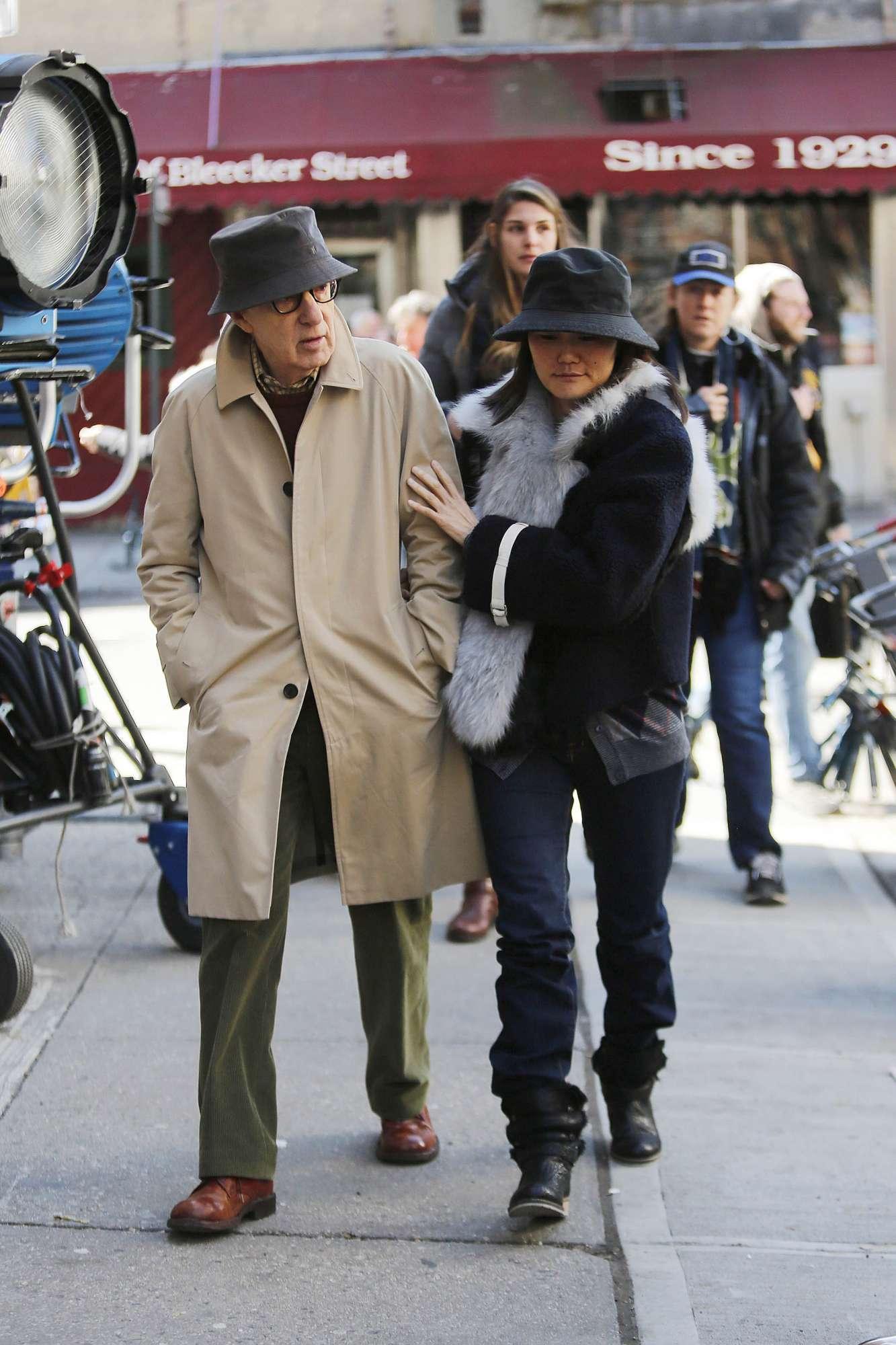 Woody Allen e sua moglie Soon-Yi Previn