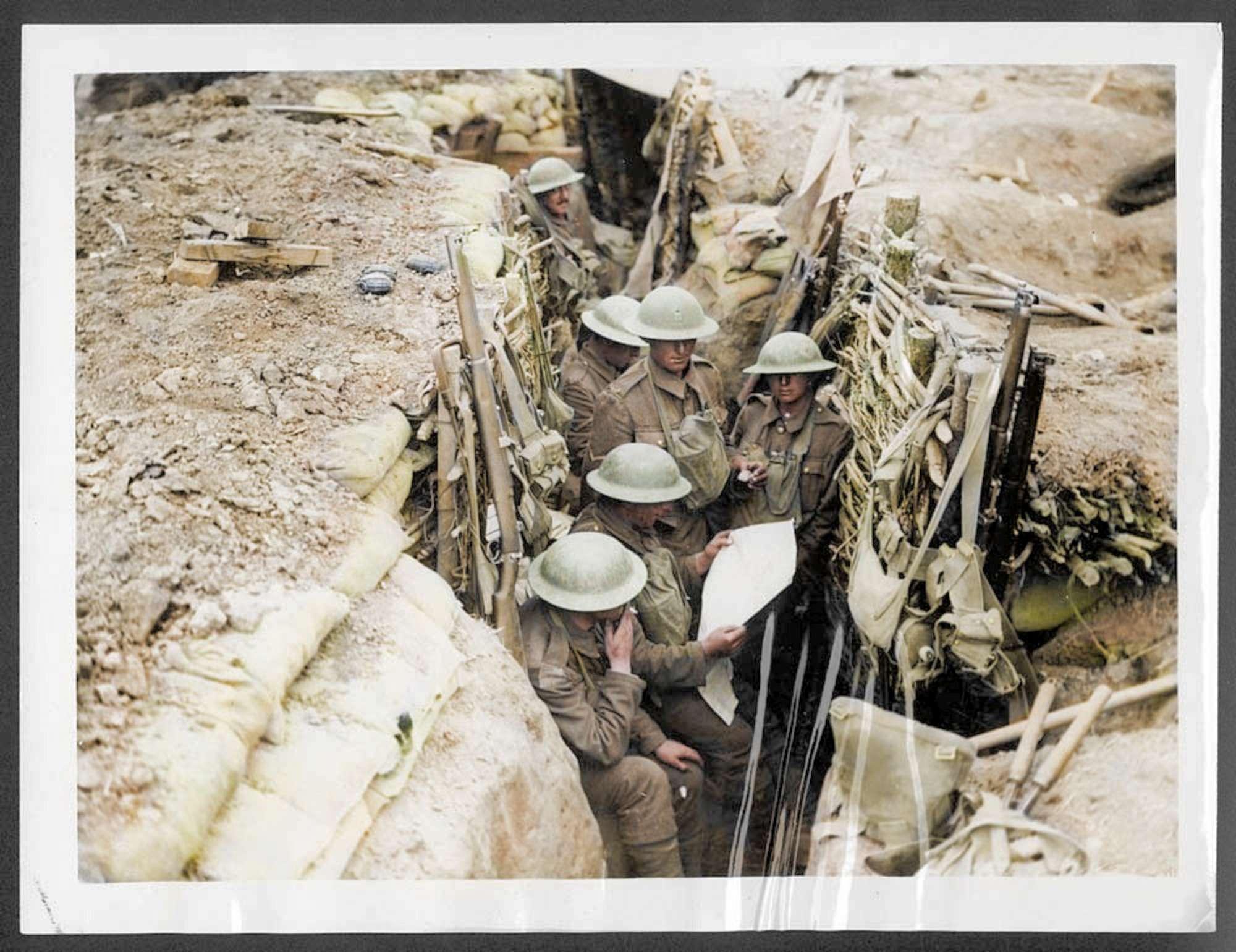 Le foto a colori dei reggimenti scozzesi durante la Prima Guerra Mondiale