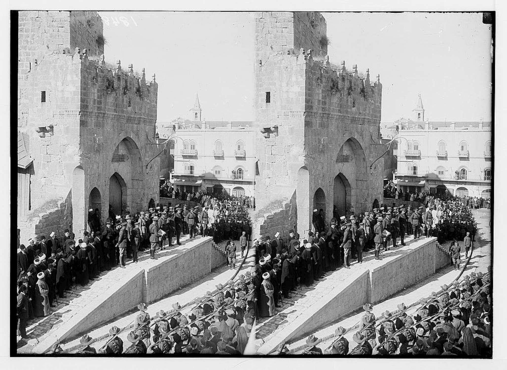Cent anni fa la liberazione di Gerusalemme: l entrata in città del generale Allenby