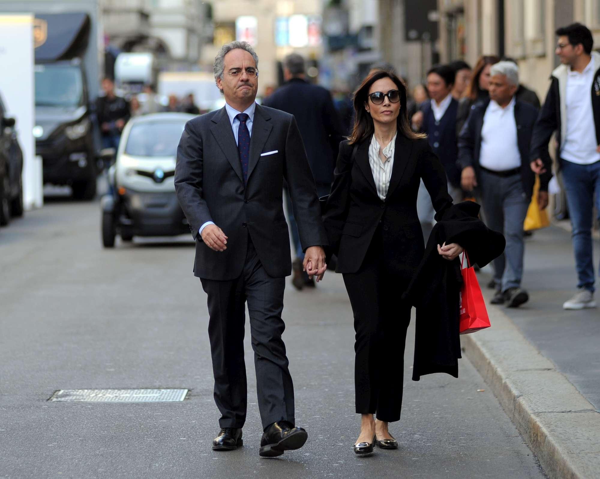 Shopping a Milano per Mara Carfagna