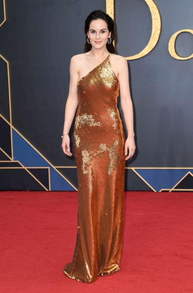 Downton Abbey , alla prima mondiale del film le  Ladies  illuminano il red carpet
