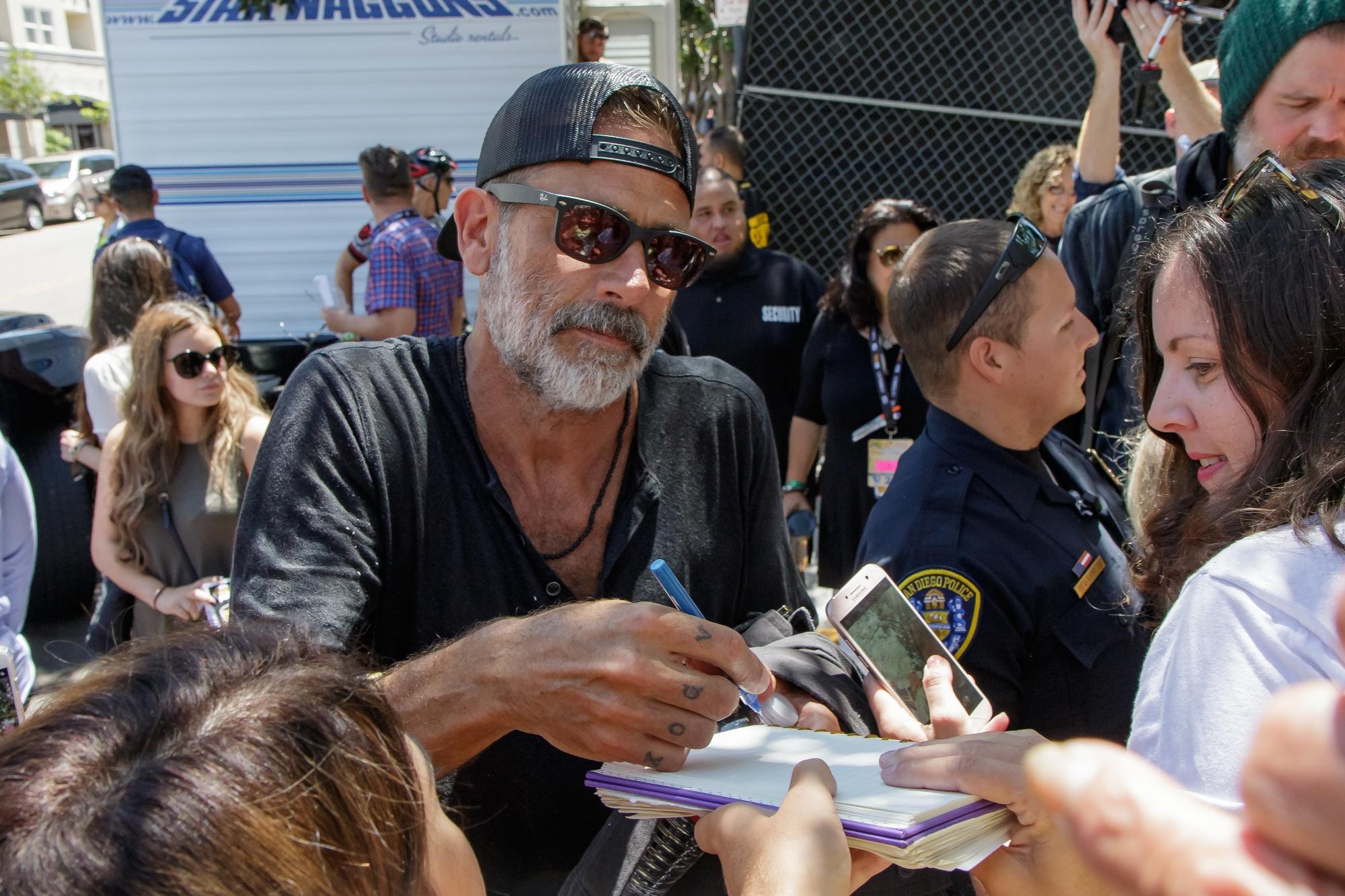 I protagonisti di  The Walking Dead  al Comic Con di San Diego