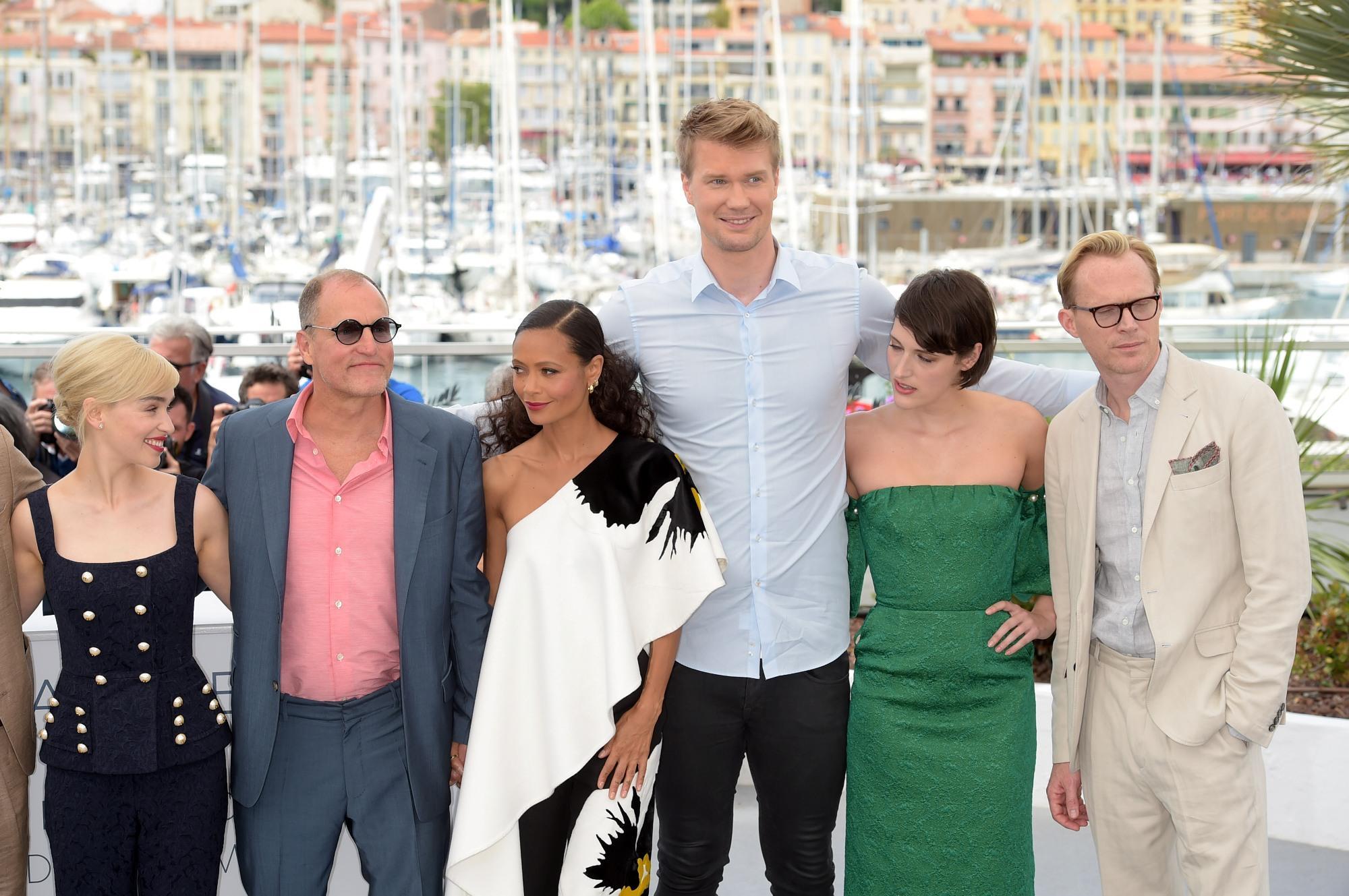 Solo: A Star Wars Story , il cast in posa al Festival di Cannes