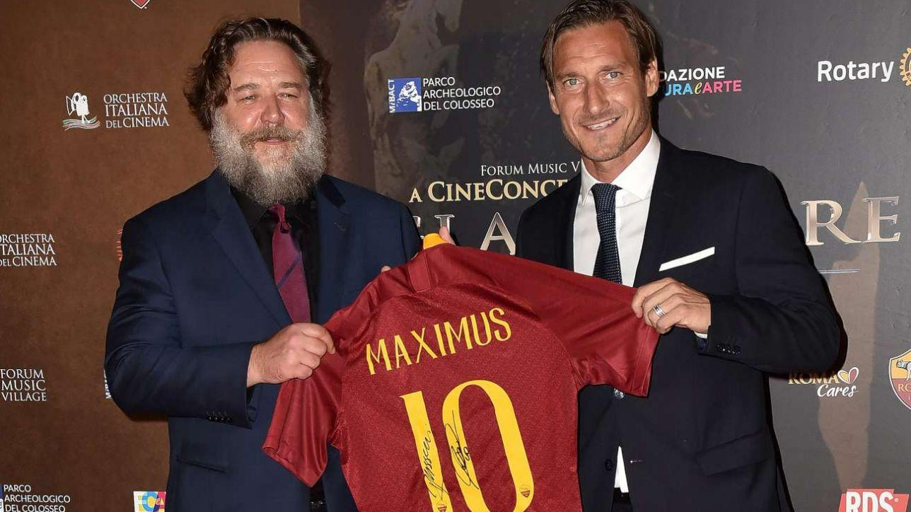 Russell Crowe a Roma per