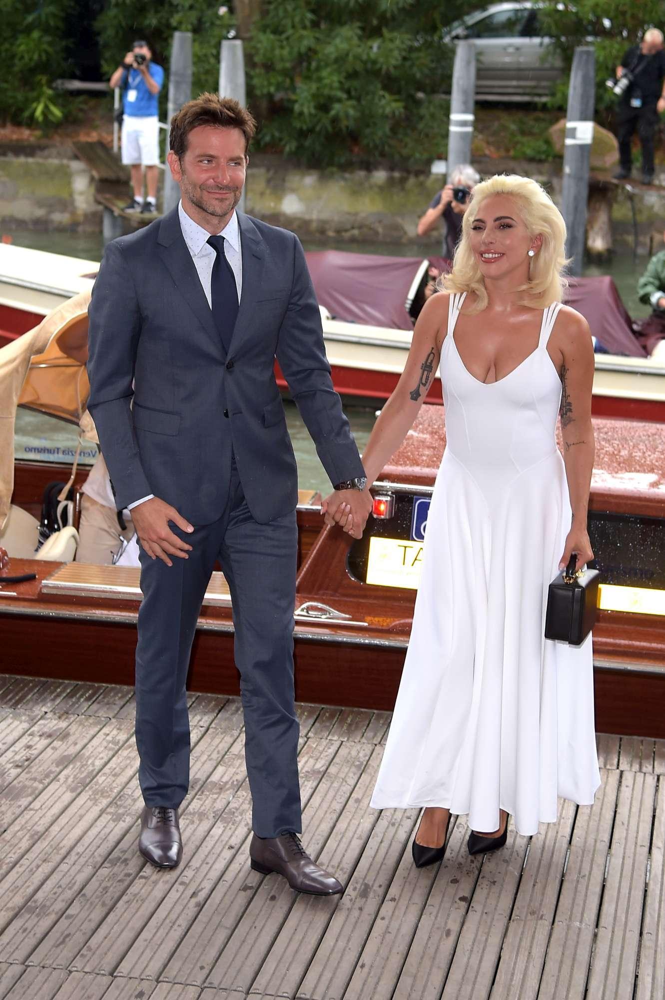 Venezia 75, Lady Gaga e Bradley Cooper sbarcano al Lido