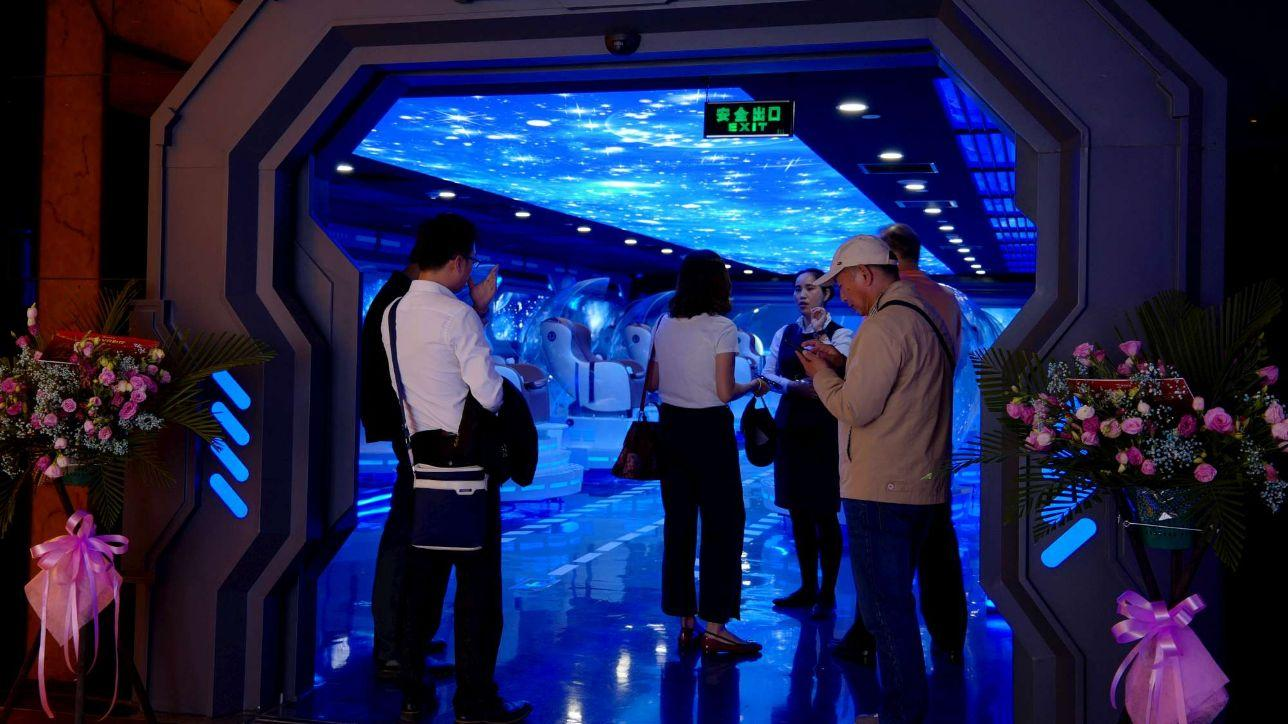 Il primo cinema in realtà virtuale