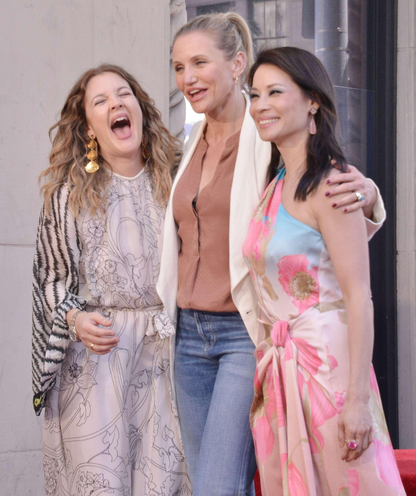 Le Charlie s Angels si riuniscono: Cameron Diaz, Drew Barrymore e Lucy Liu insieme