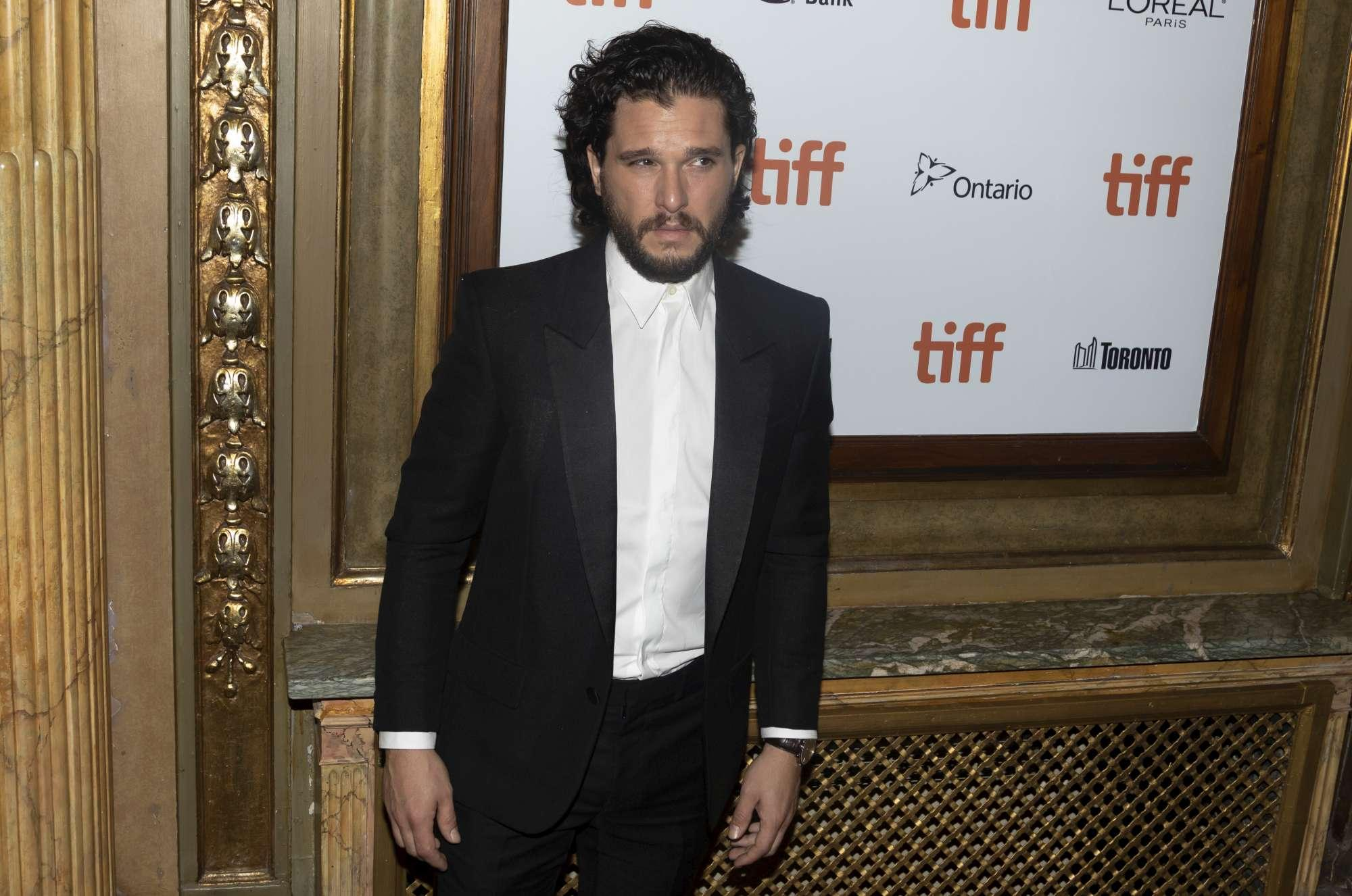 Kit Harington al Toronto Film Festival