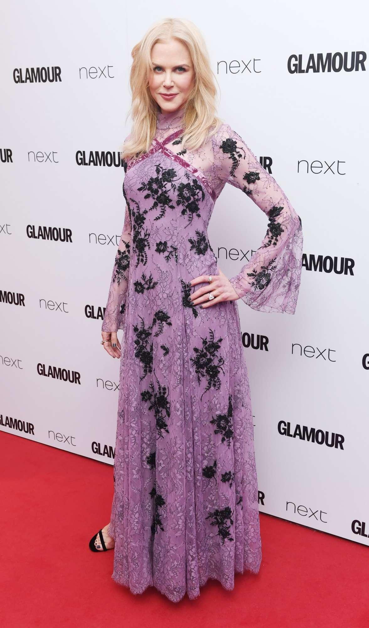 Nicole Kidman incoronata attrice dell anno ai Glamour Awards