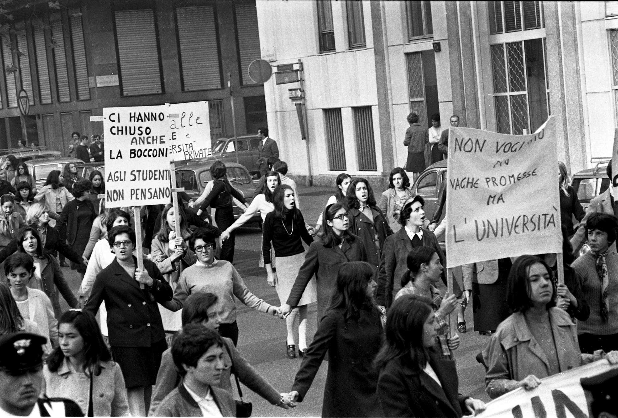 Cinquanta volte Sessantotto, mezzo secolo di contestazioni studentesche e lotte armate