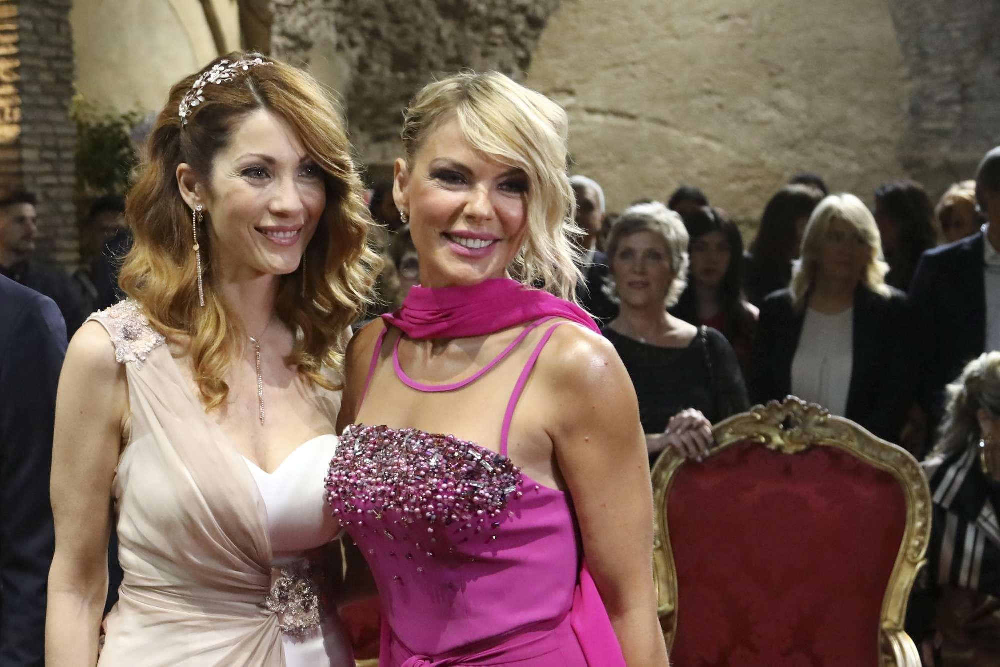 Nozze da vip per Milena Miconi a Roma