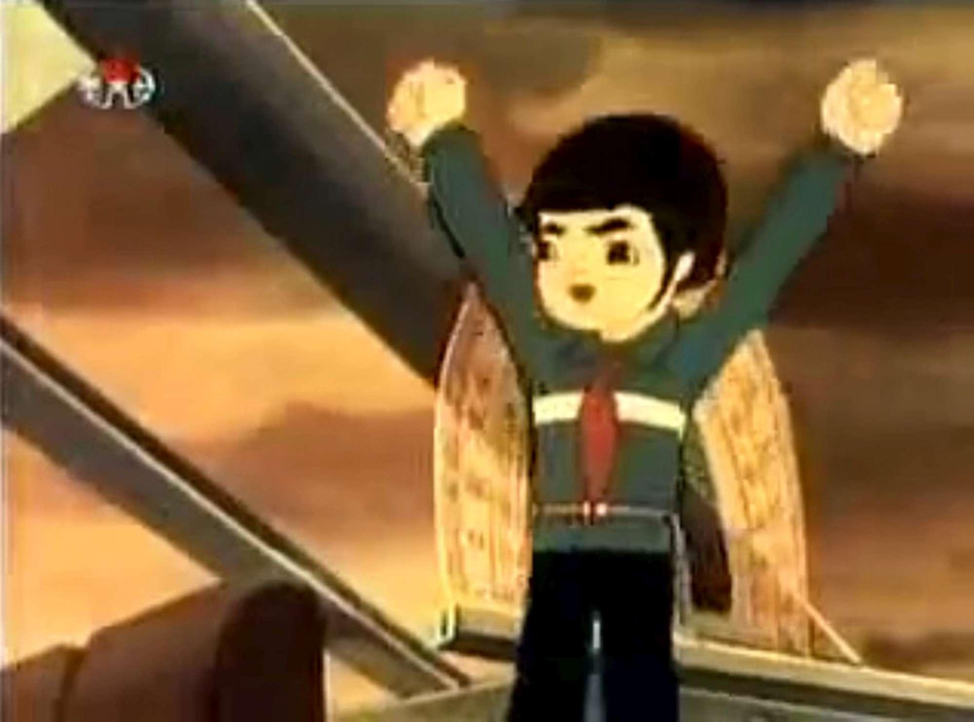 Corea del nord il cartone animato anti americano matite