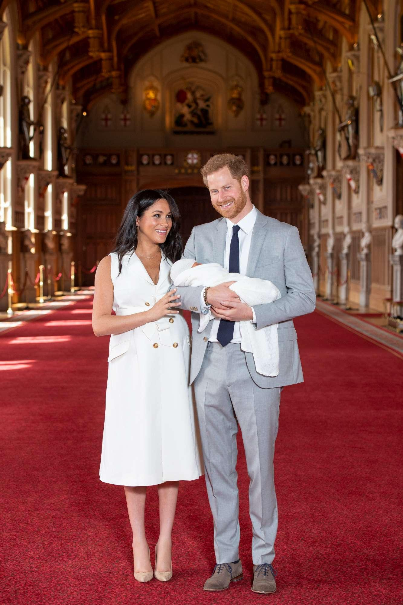 Harry e Meghan, le prime foto del baby Sussex