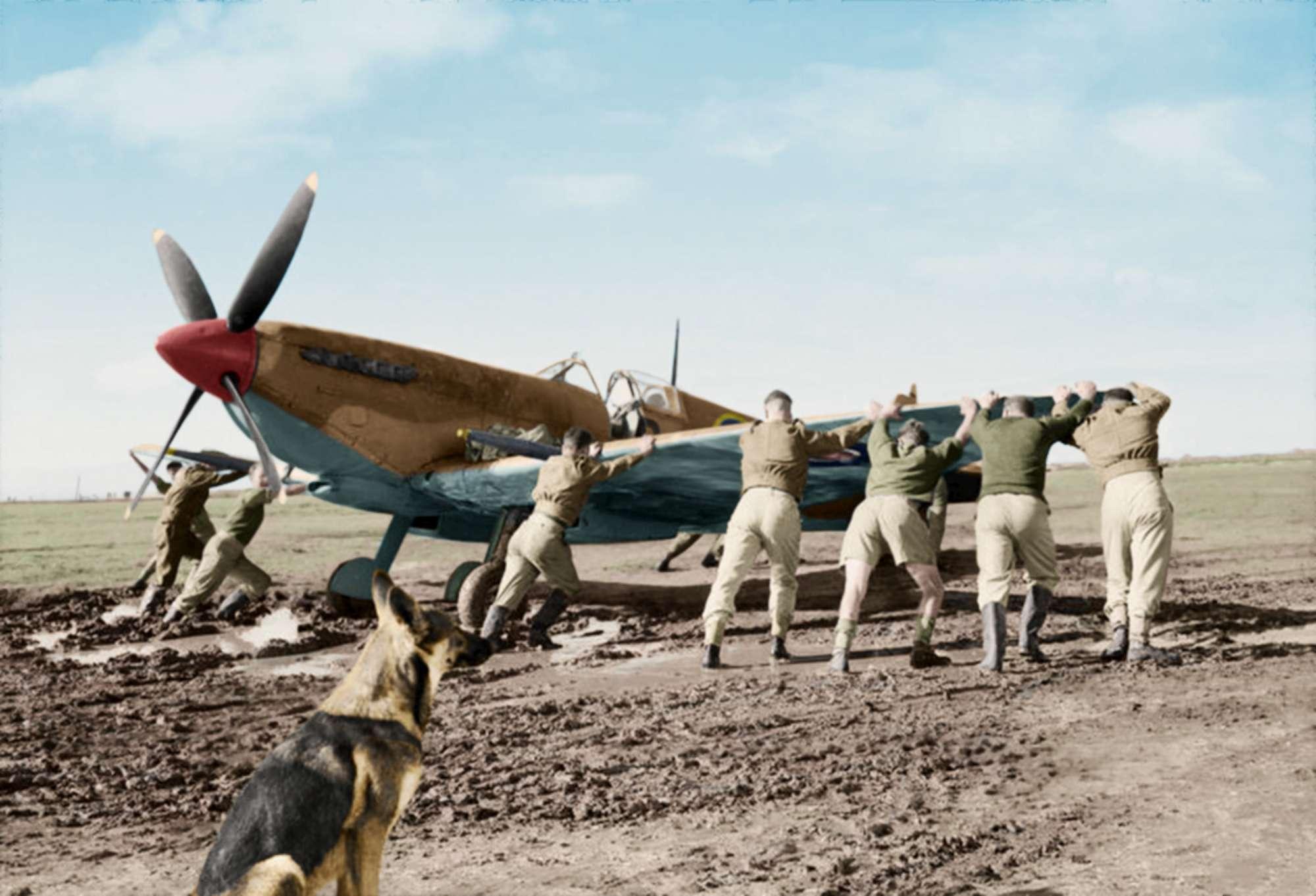 Le foto a colori degli aerei pilotati durante la Seconda guerra mondiale