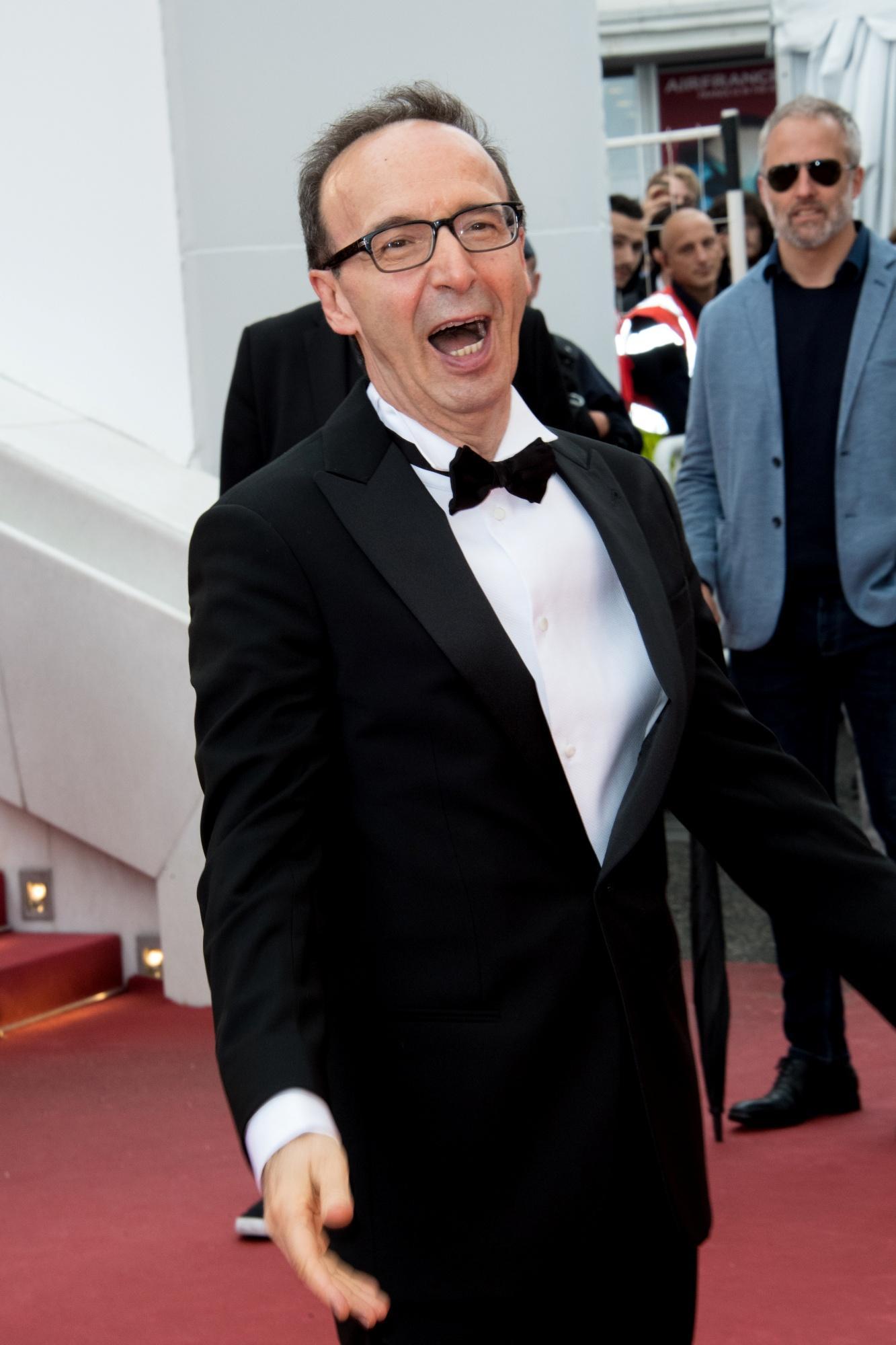 Cannes 2018, Benigni scatenato sul red carpet di  Lazzaro felice