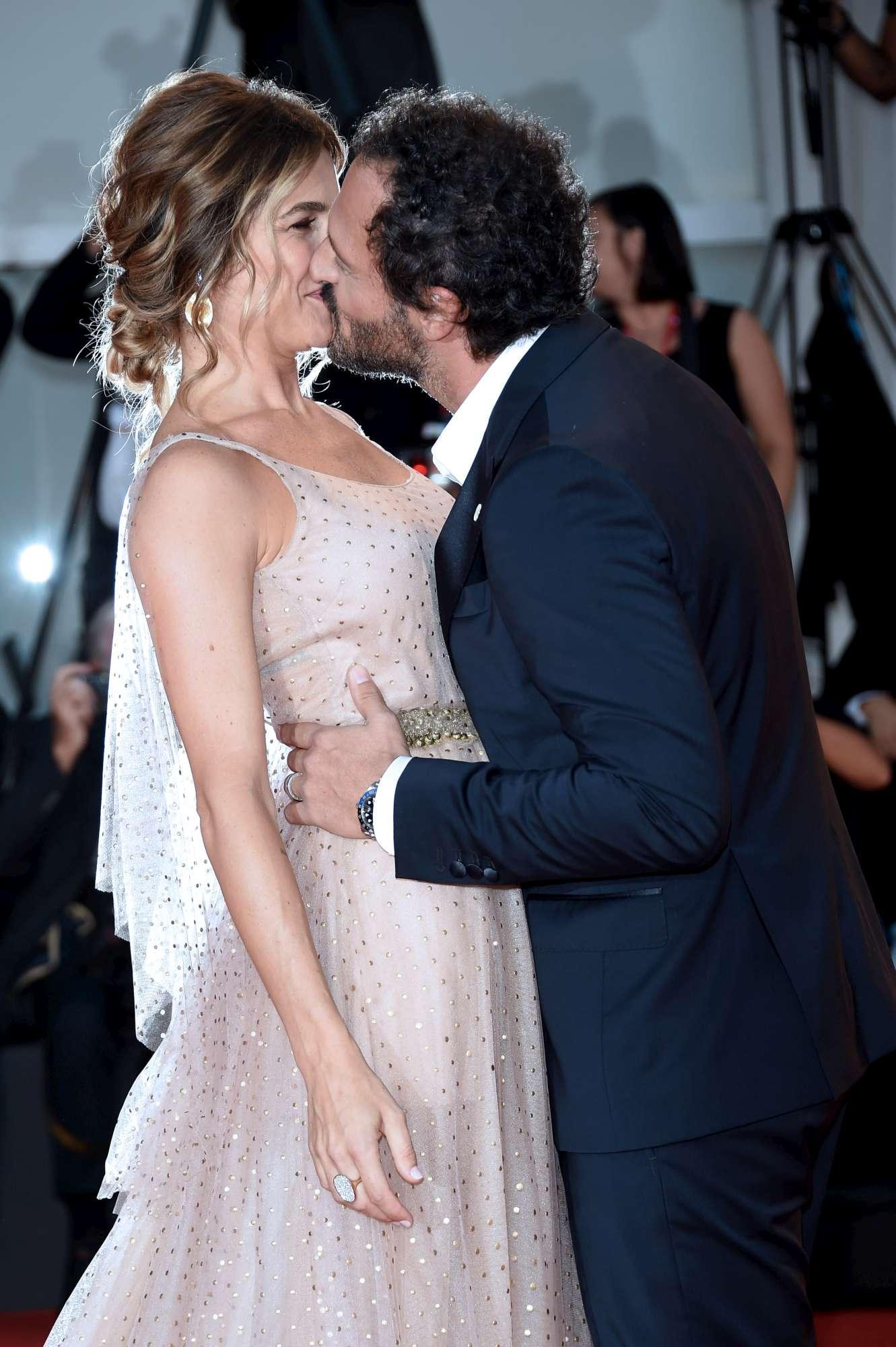 Eleonora Pedron e Fabio Troiano al debutto sul red carpet