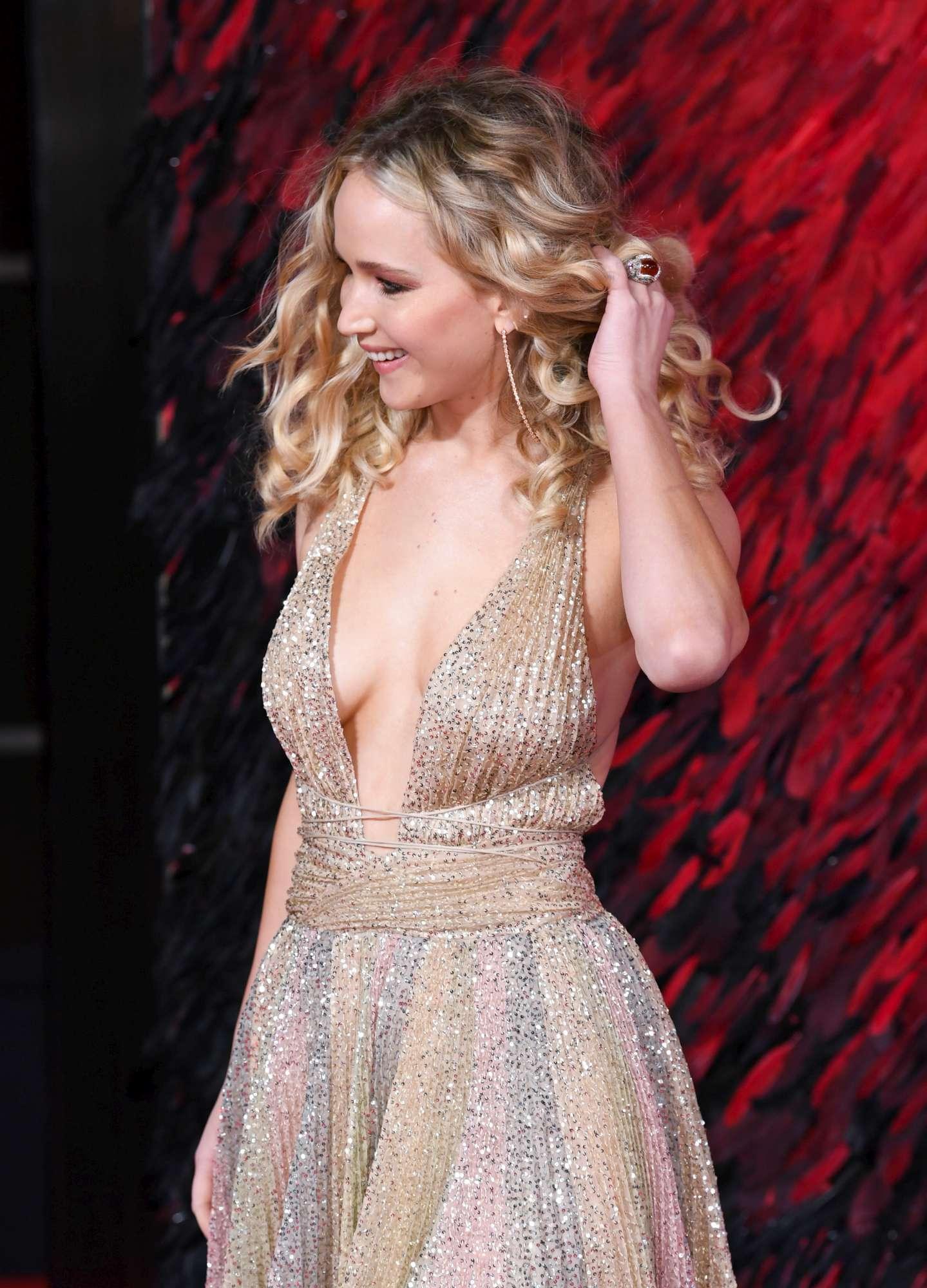 Jennifer Lawrence alla presentazione di