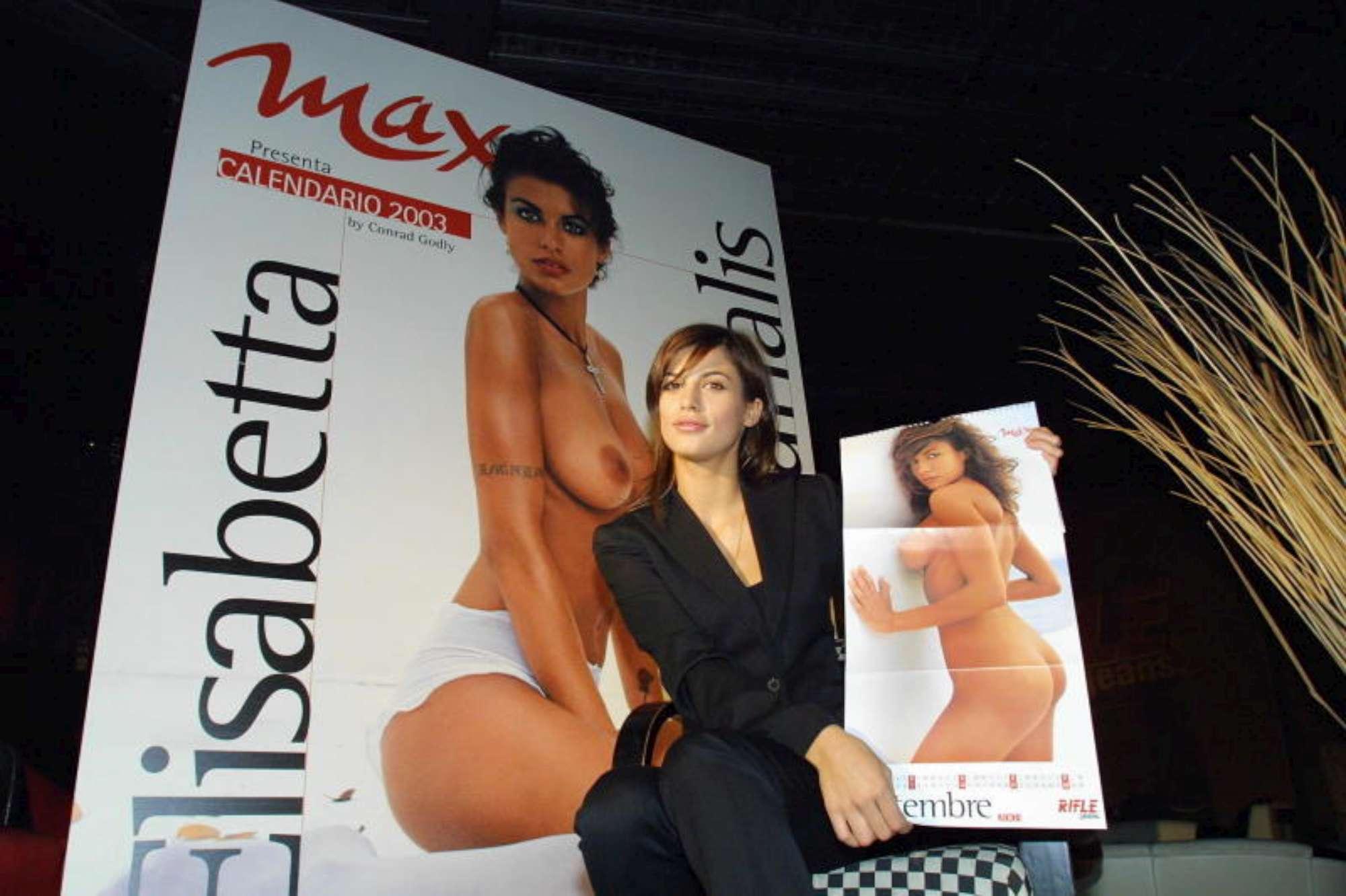 Calendario Canalis Corvaglia 2002.Elisabetta Canalis Spegne 40 Candeline Guarda Tutte Le Foto