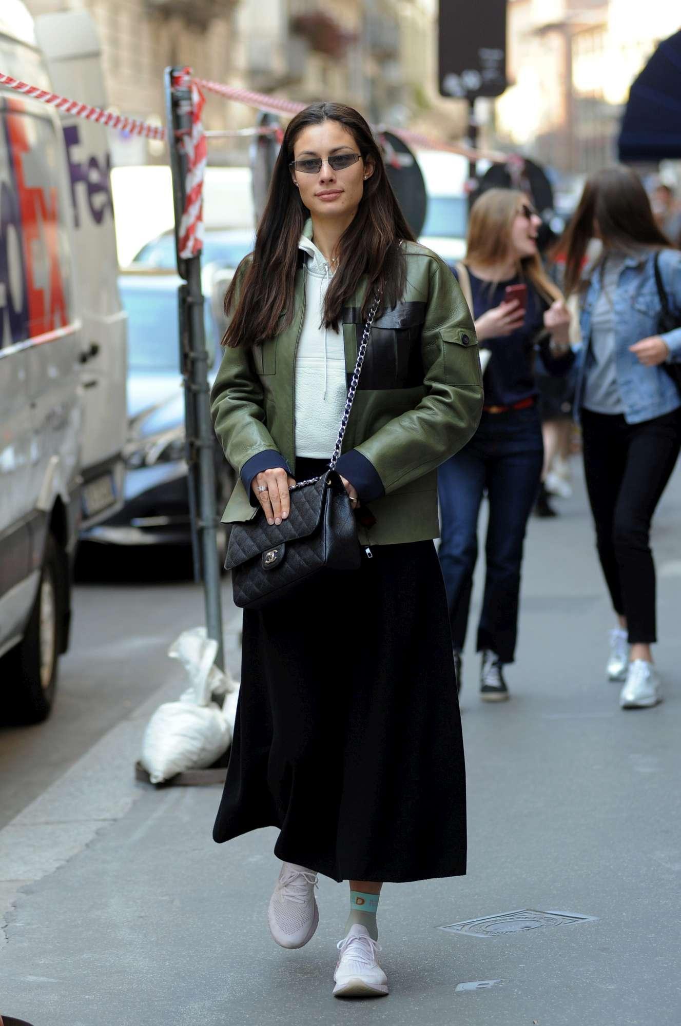 Marica Pellegrinelli, shopping e chiacchiere milanesi