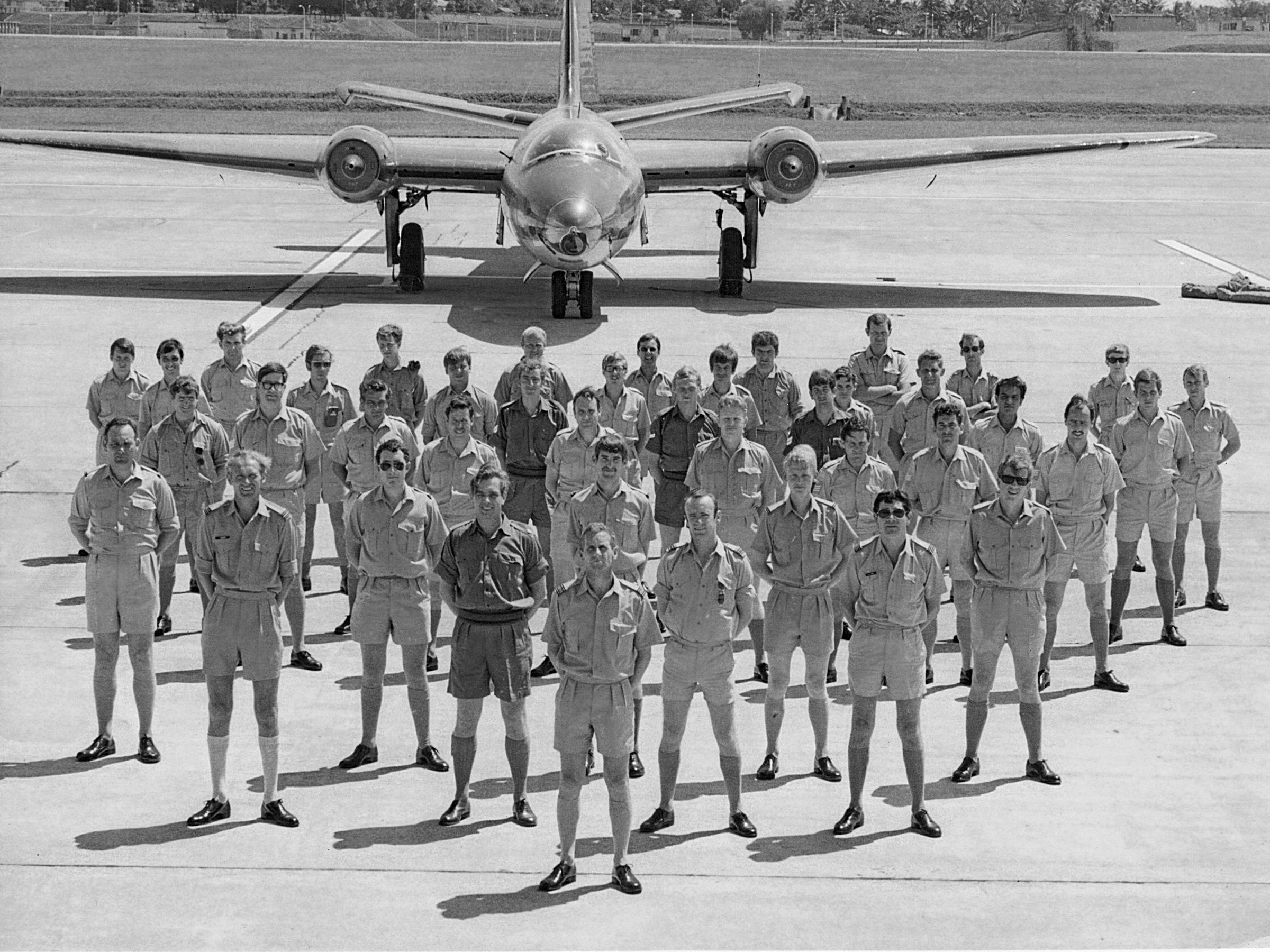 Le foto dei piloti della Raf impegnati nella Guerra Fredda e nella Guerra delle Falkland