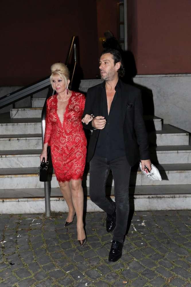 Ivana Trump... una vivace vita sentimentale...