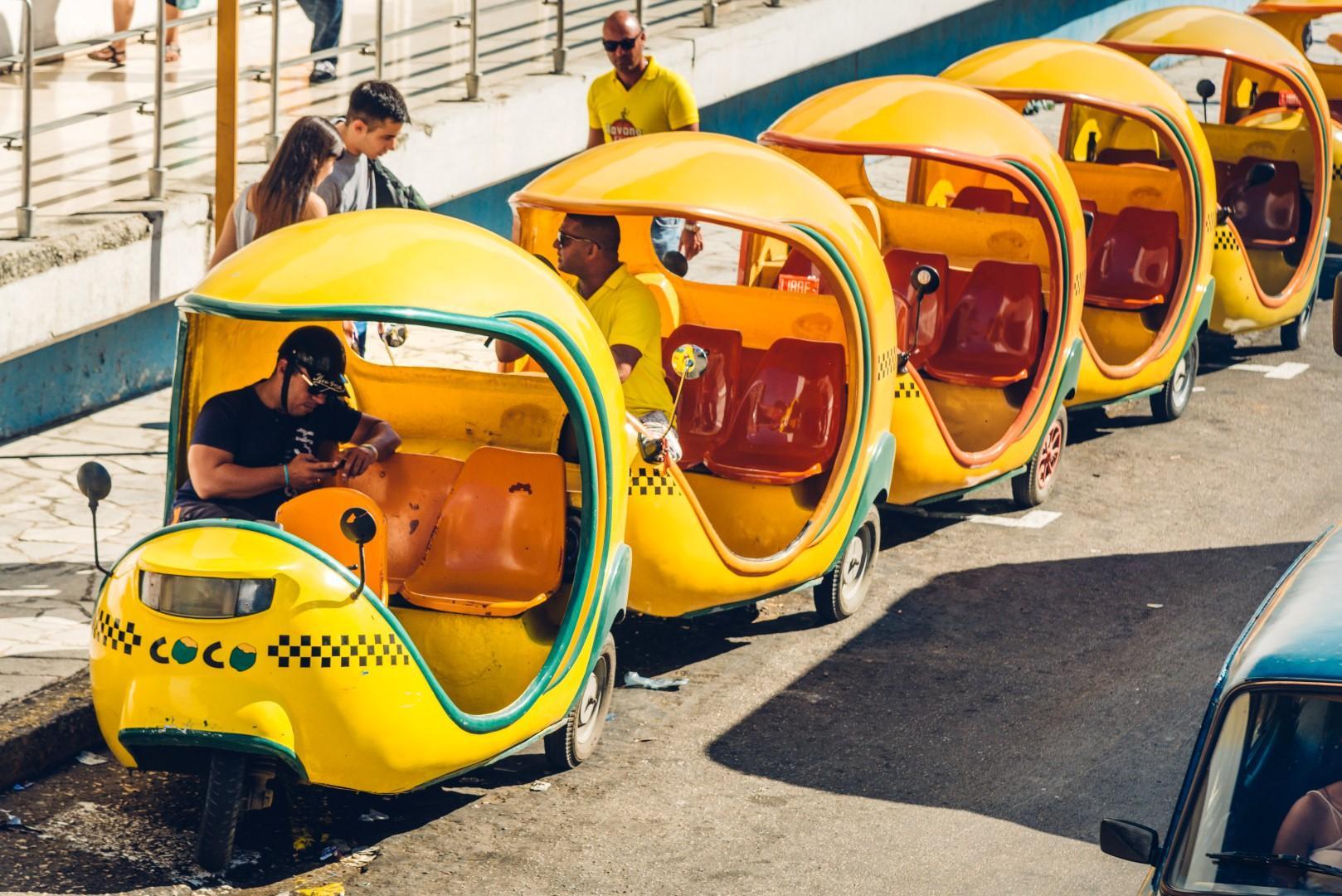 """Spostarsi in taxi: i """"veicoli"""" più curiosi del mondo"""