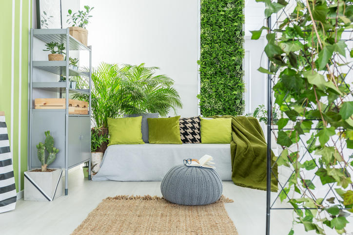 Tendenze verdi: i giardini verticali tra le mura di casa