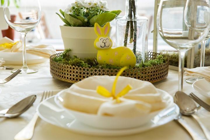 La tavola di Pasqua: tante idee per un pranzo di primavera