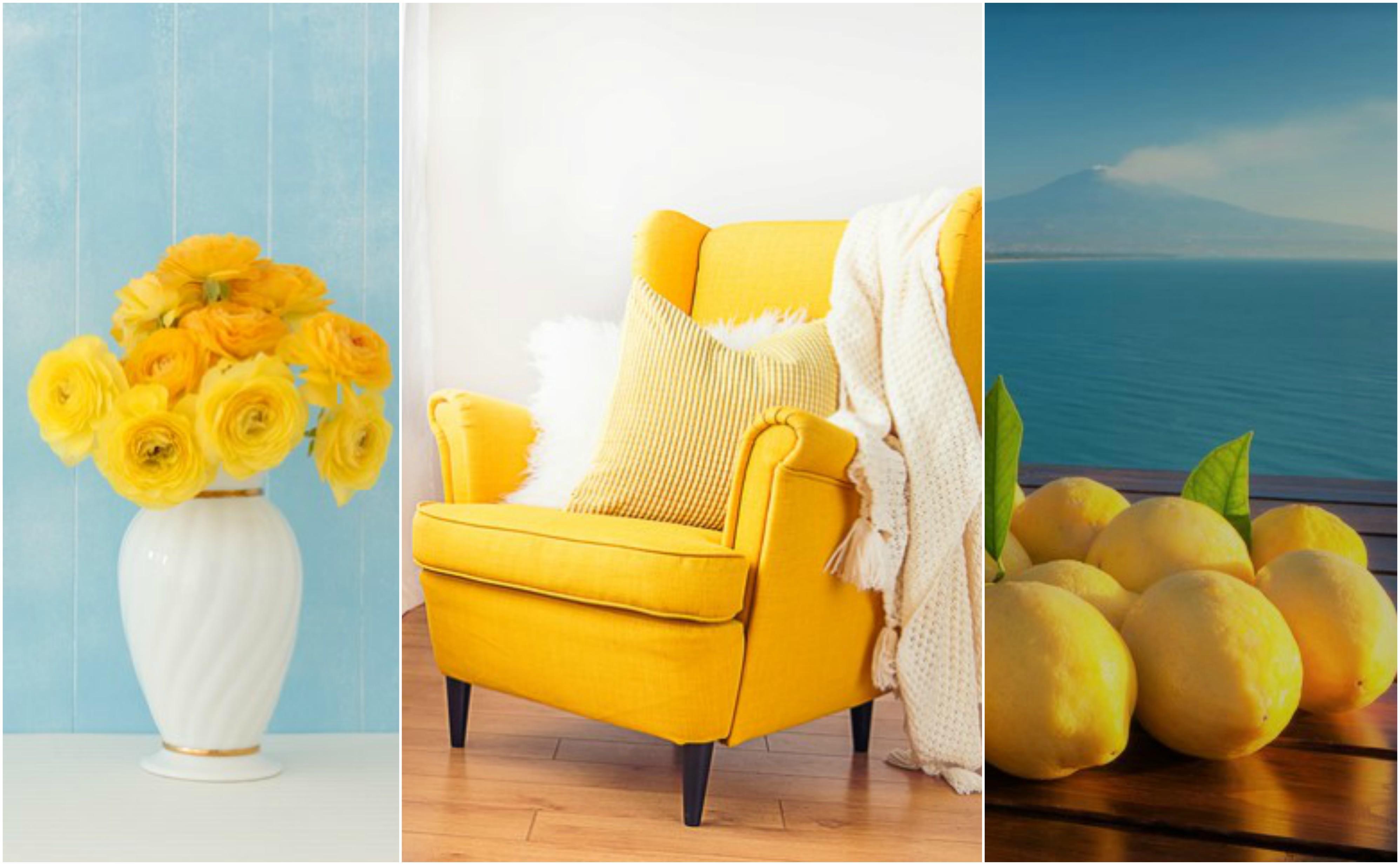 Arredo: ti piace il giallo?
