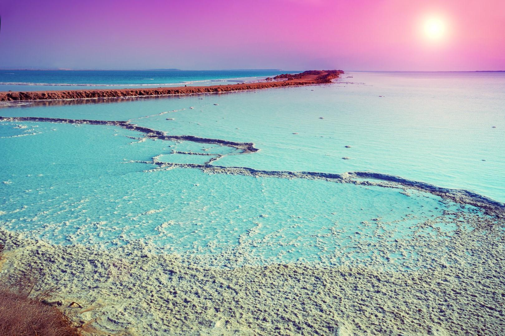 I laghi salati più affascinanti del mondo
