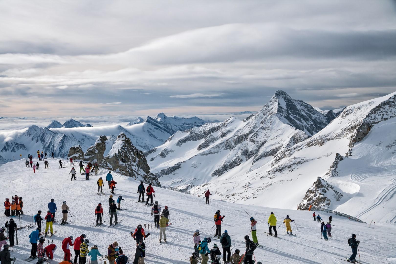 Gli impianti aperti per gli irriducibili dello sci