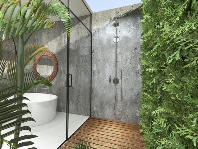 Cinque idee per circondarsi di verde nel bagno di casa
