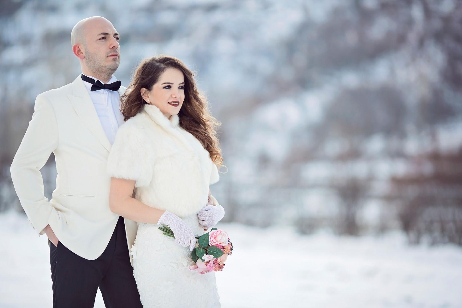 Il fascino delle nozze d'inverno