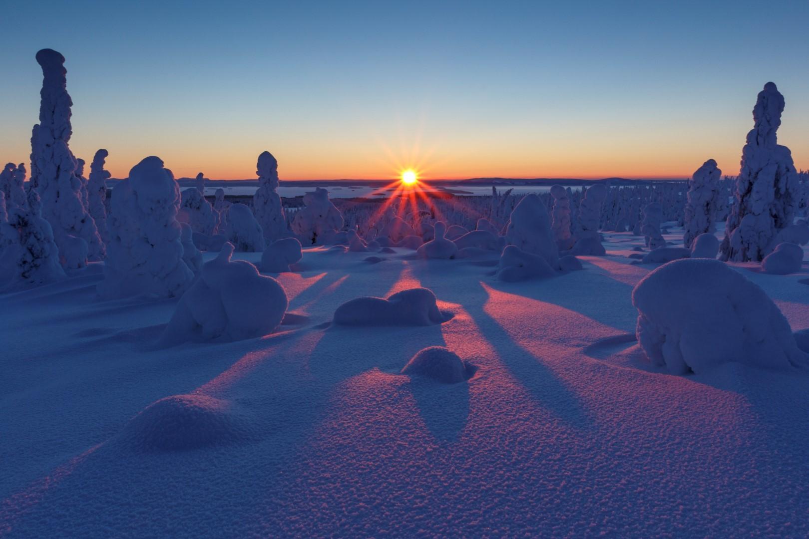 Casa Di Babbo Natale Al Polo Nord.Tutti In Finlandia Nella Casa Di Babbo Natale Tgcom24