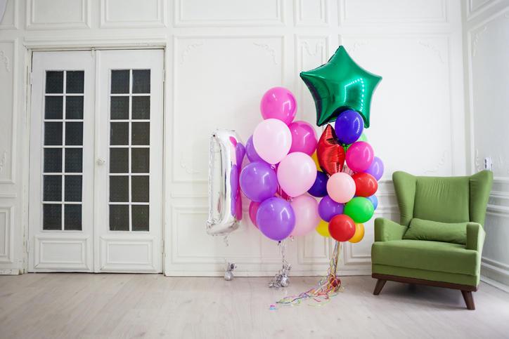 Arredo: palloncini colorati per ogni occasione