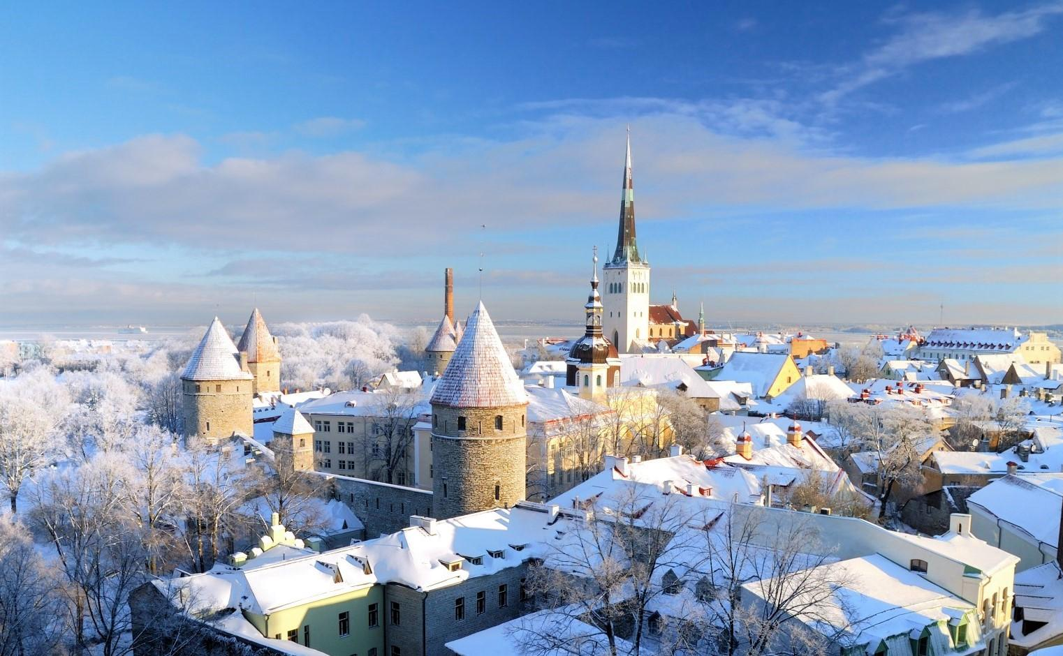 I luoghi che con la neve diventano magici
