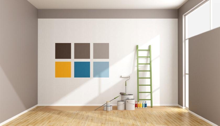 Primavera, è ora di tinteggiare le pareti di casa