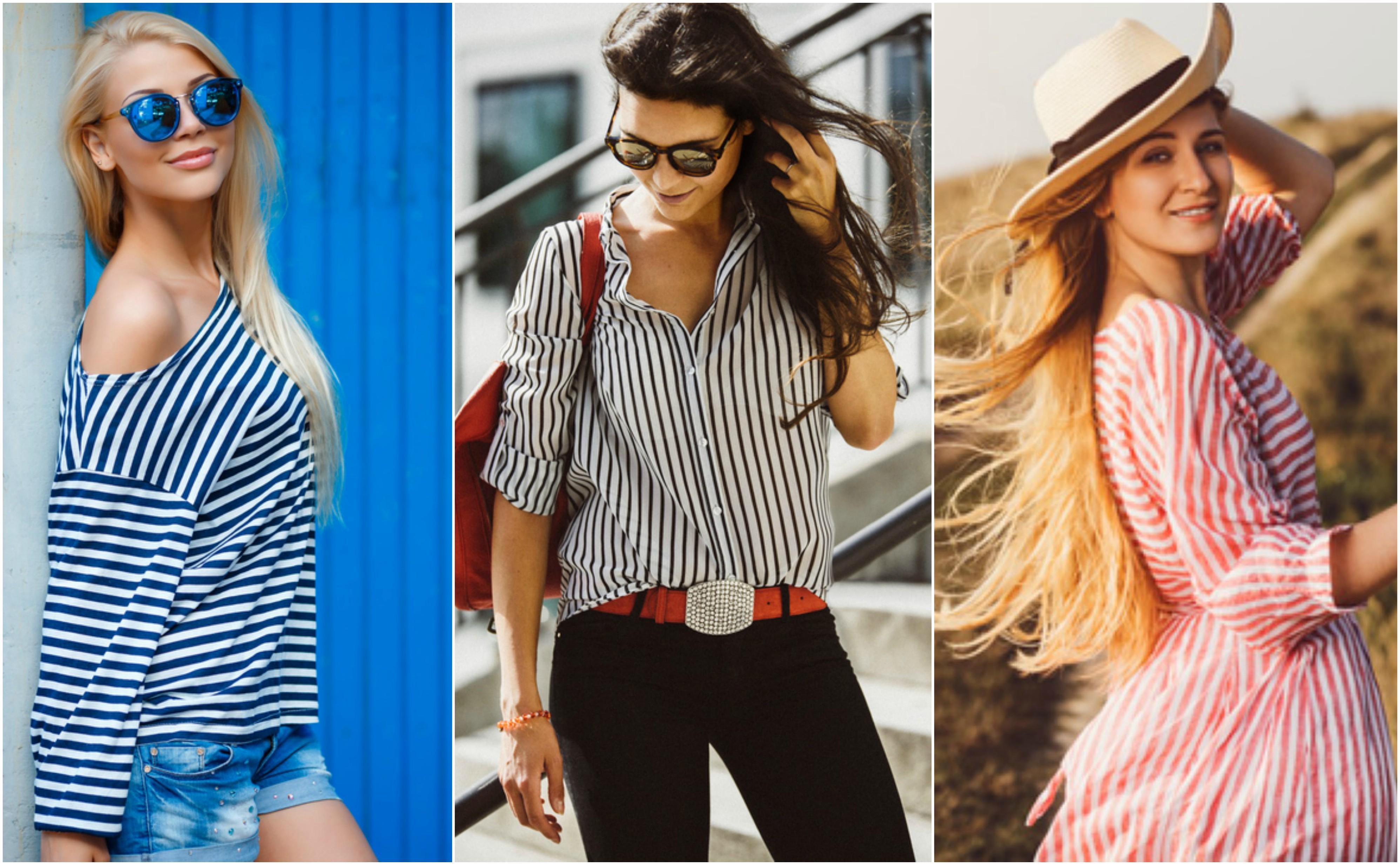 Tendenze: la moda ci vuole in riga