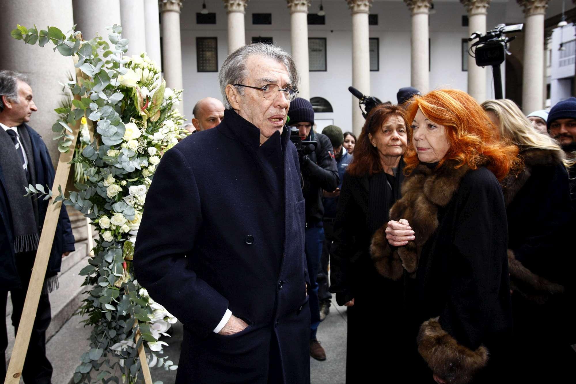 Milano dà l ultimo saluto a Gian Marco Moratti