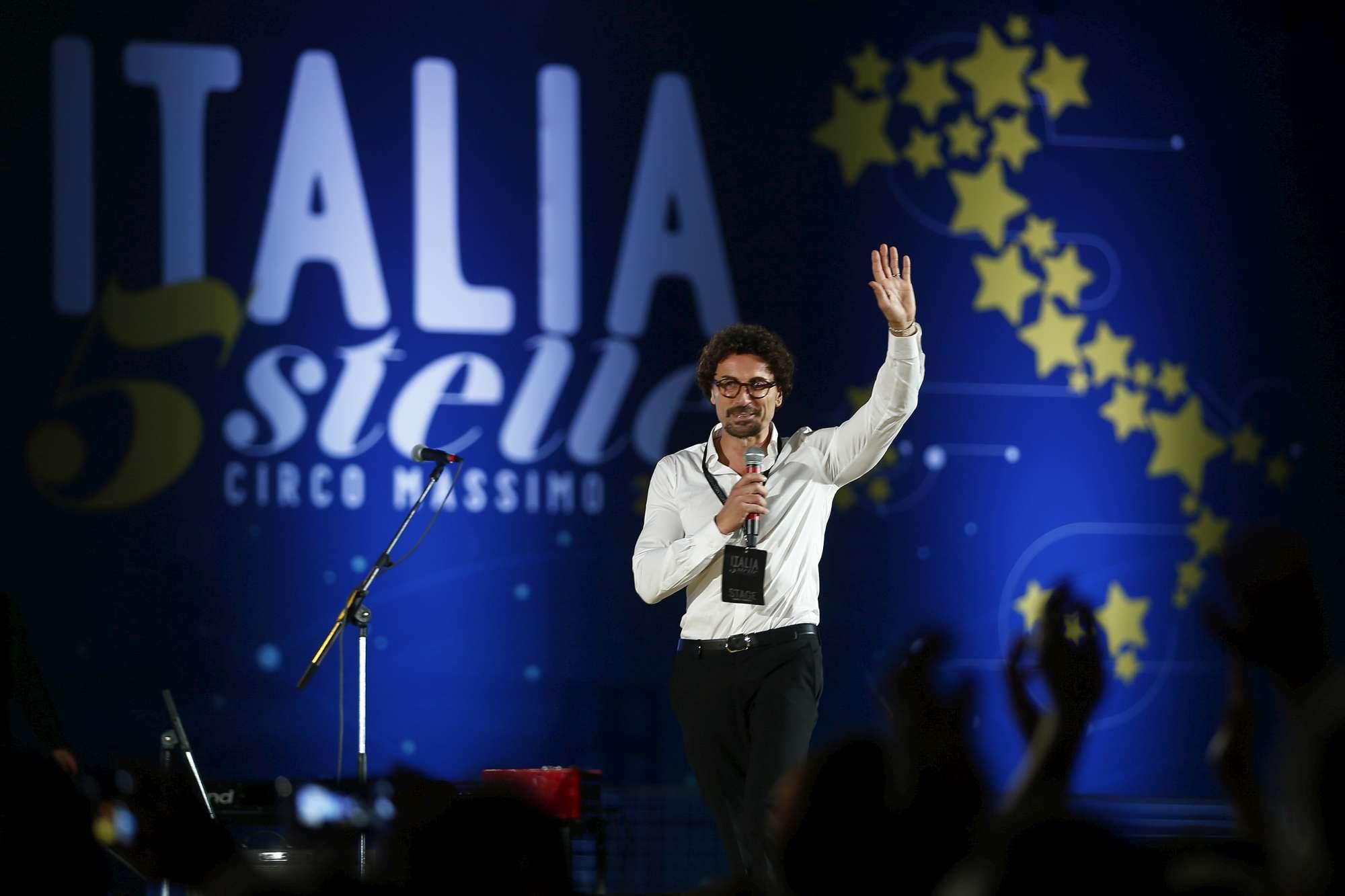 Roma, Italia 5 stelle al Circo Massimo