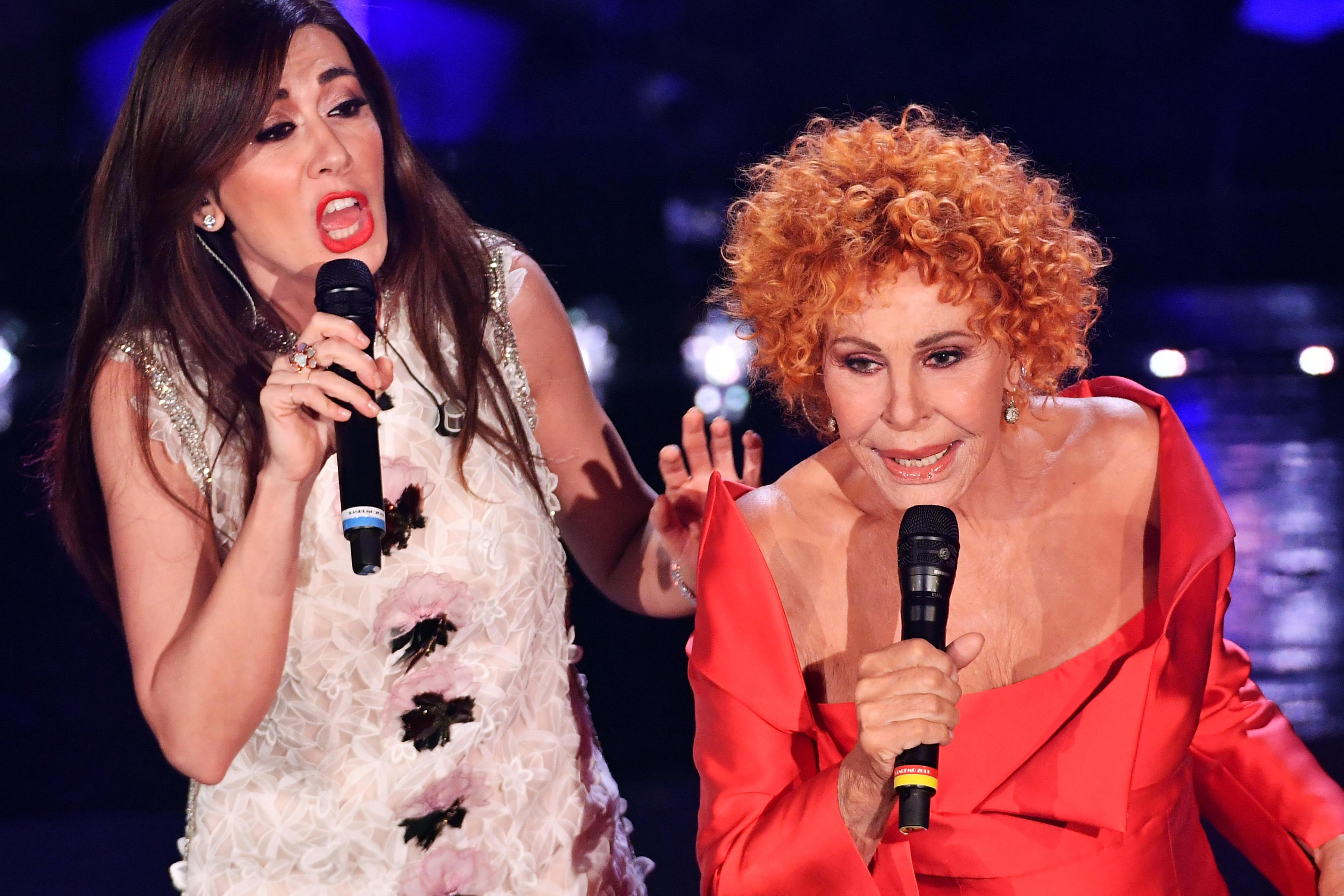 Ornella Vanoni show tra Virginia Raffaele e Patty Pravo