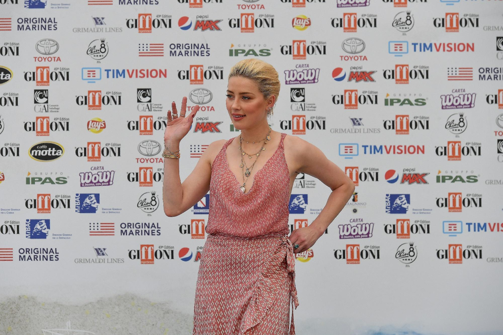 Giffoni Film Festival : da Amber Heard ad Alessandro Borghi, gli ospiti della sesta giornata