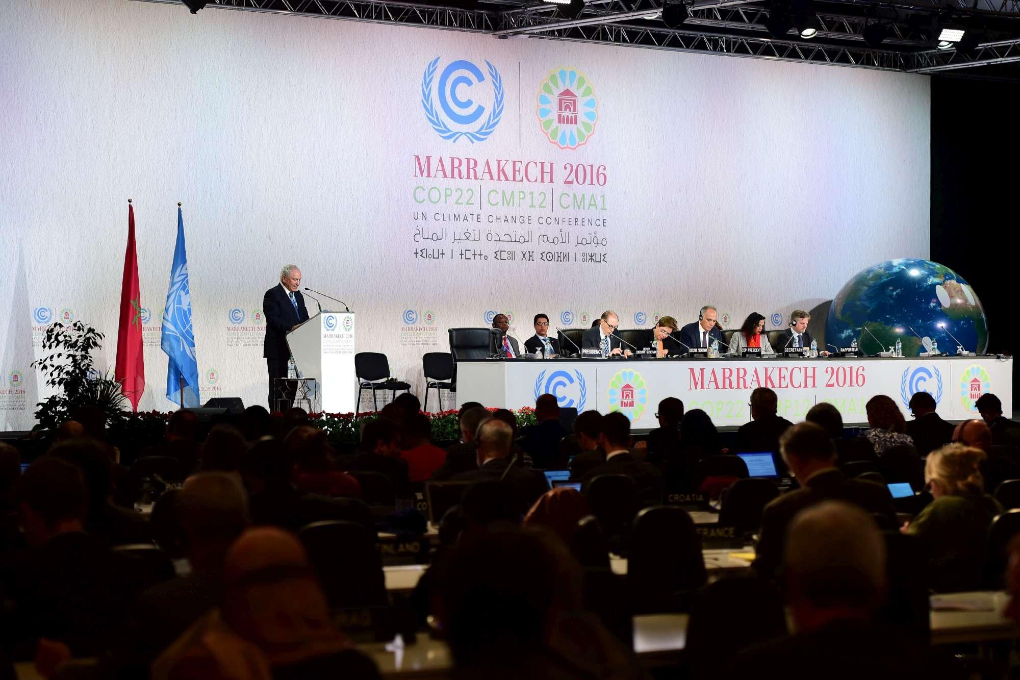 Cop22, la  dichiarazione di Marrakech  chiude la Conferenza sul Clima