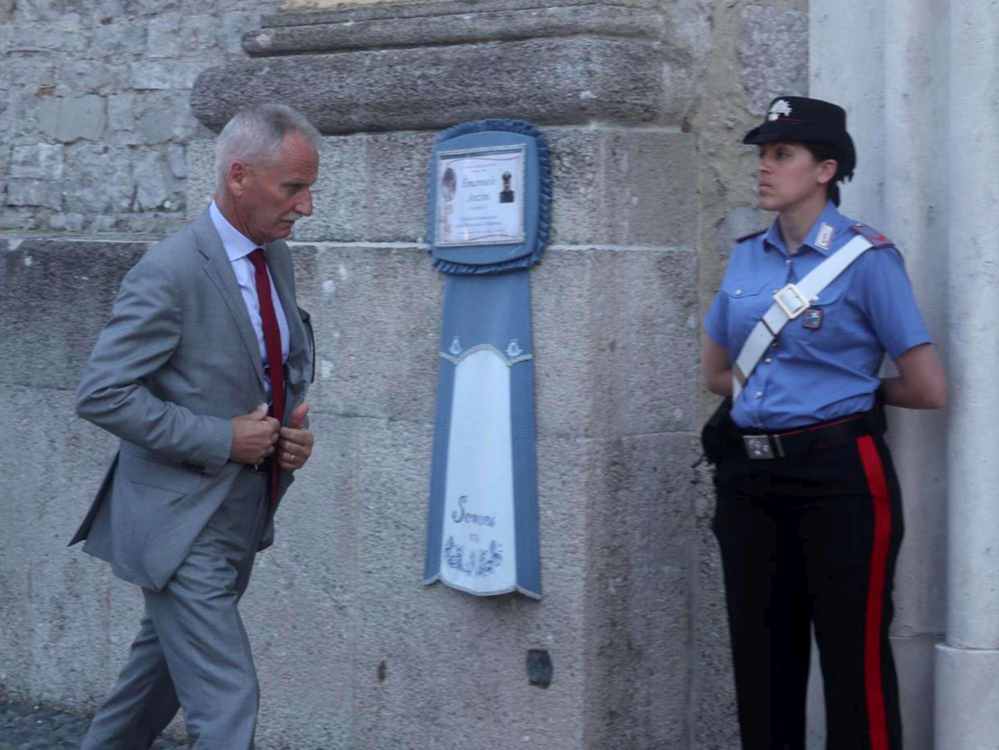Terno d Isola, Carabiniere muore travolto a un posto di blocco