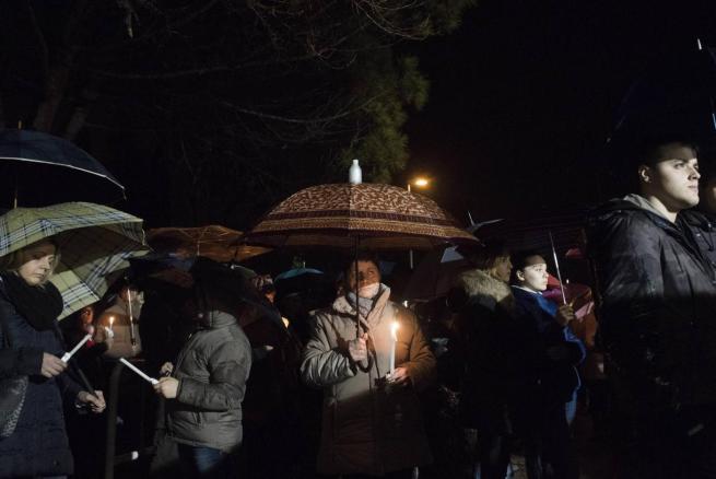 Per l'ultimo saluto a Giulio Regeni, la comunità di Fiumicello apre le porte