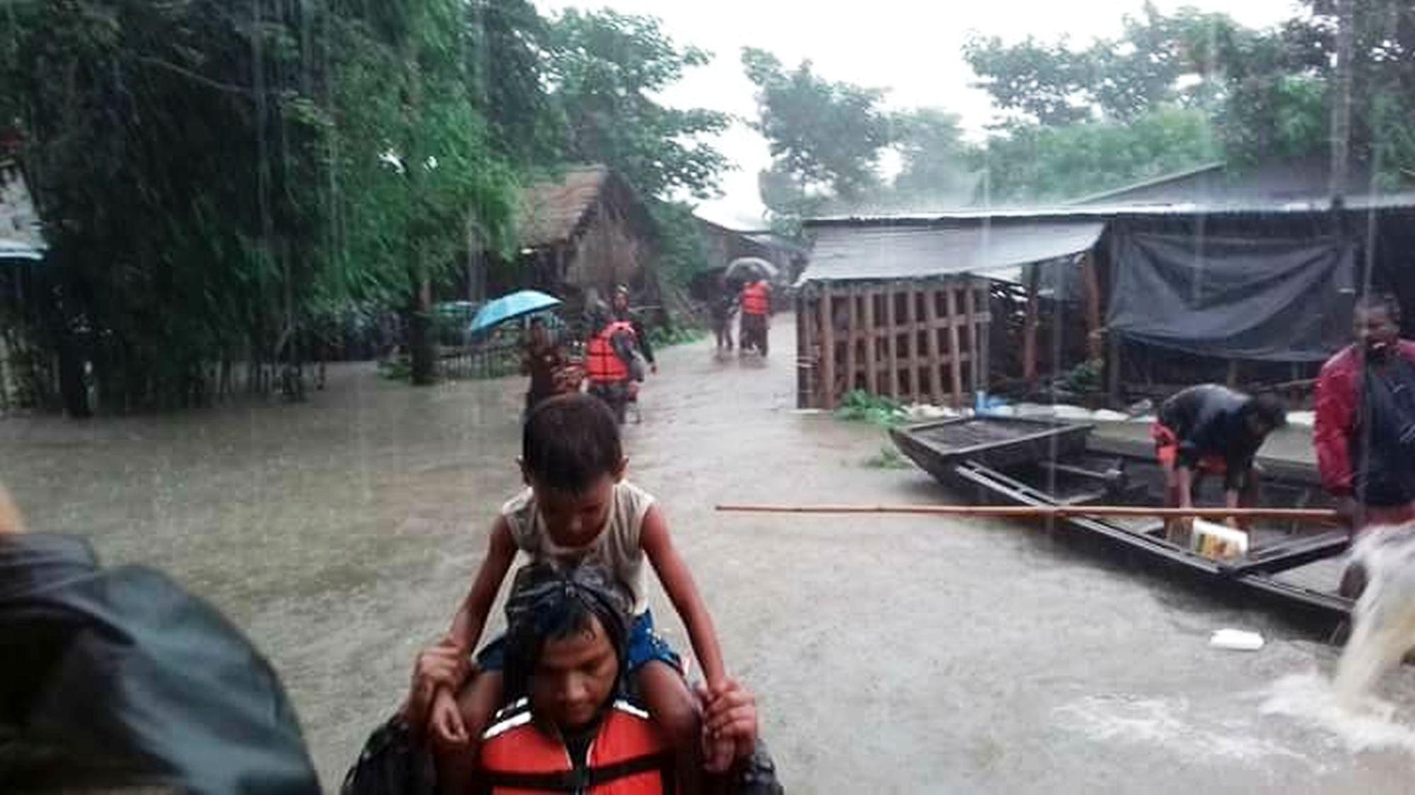 Nepal, alluvioni e frane nel Paese