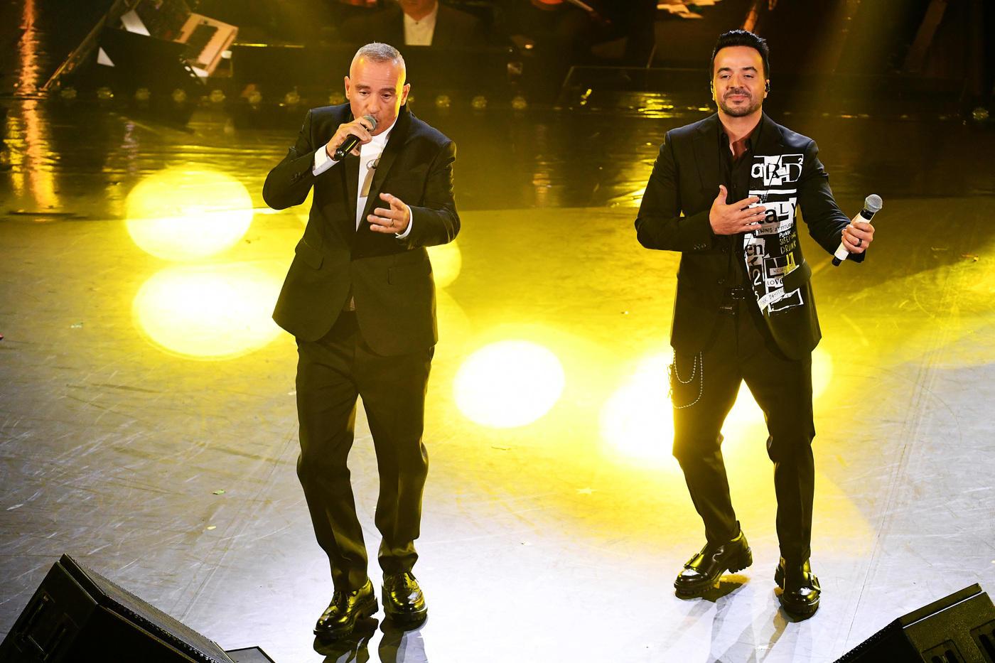 Sanremo 2019, Eros Ramazzotti duetta con Luis Fonsi