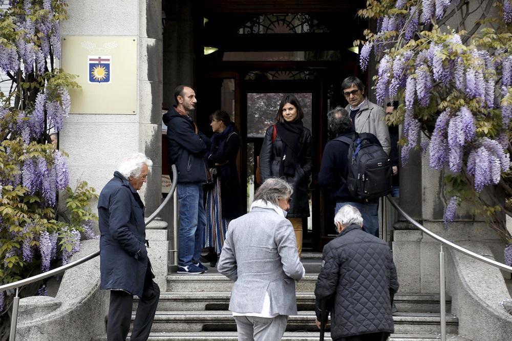 Cesare Cadeo, a Milano la camera ardente per l ultimo saluto