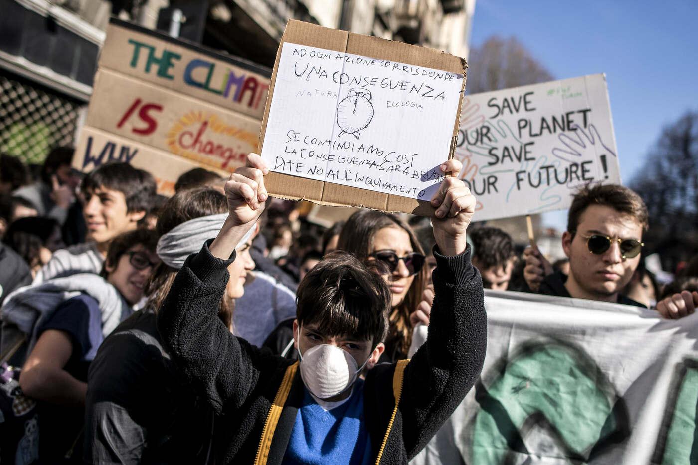 Risultati immagini per manifestazione clima montecitorio